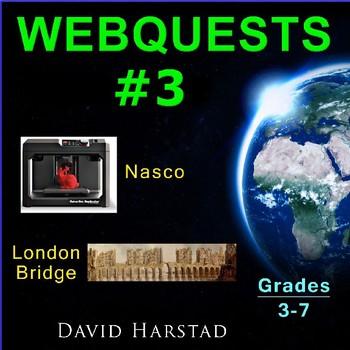 Webquest Fourth Grade: London Bridge & Nasco Catalog Activities