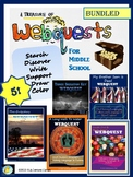 Webquests, Bundled: A Long Walk to Water, Inside Out & Back Again ... 5