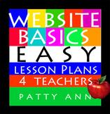 Website Basics: EASY No Prep Lesson Plans 4 Teachers -Semester Curricula Outline