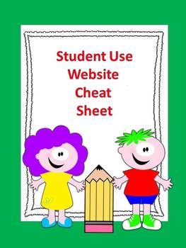Website Cheat Sheet