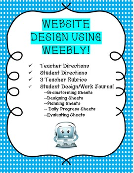 Website Design Project Using Weebly