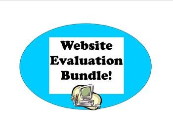 Website Evaluation Bundle: 3 Products to Teach Choosing Good Digital Sources
