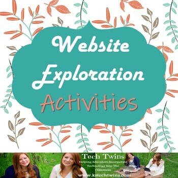Website Exploration *14 Activities!!*