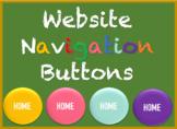 Website Navigation Buttons (MULTIPLE COLORS)