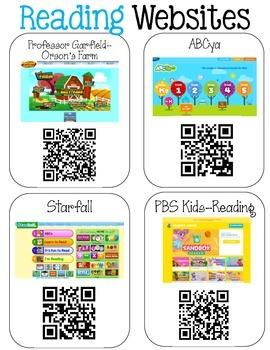 Website Poster for First Grade