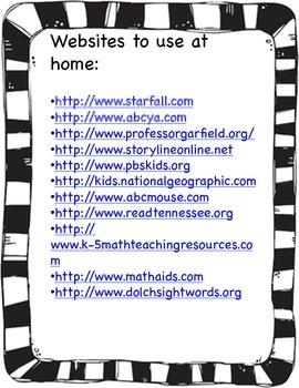 Website Resource for Parents
