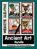 Website Sleuths: Ancient Art Bundle