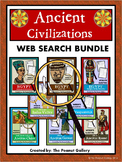 Website Sleuths- Ancient Civilizations Bundle