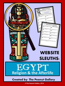 Website Sleuths- Ancient Egypt (Religion and the Afterlife)