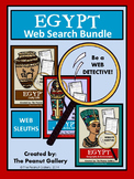 Website Sleuths- Ancient Egypt Web Search Bundle