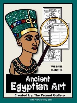 Website Sleuths: Ancient Egyptian Art