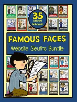 Website Sleuths BIG Bundle: Holidays & Famous Faces