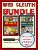 Website Sleuths BIG Bundle: Holidays & Famous Faces
