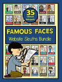 Website Sleuths Bundle: Famous Faces