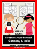 Website Sleuths: Christmas Around the World (Germany and India)