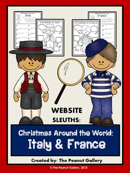 Website Sleuths: Christmas Around the World (Italy & France)