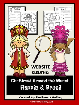 Website Sleuths: Christmas Around the World (Russia & Brazil)