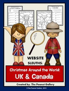 Website Sleuths: Christmas Around the World (UK & Canada)