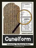 Website Sleuths: Cuneiform