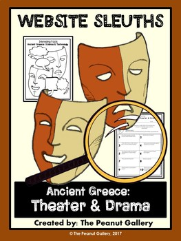 Website Sleuths: Theater and Drama in Ancient Greece