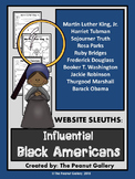 Website Sleuths: Influential Black Americans Bundle