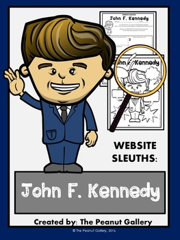 Website Sleuths: John F. Kennedy
