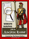 Website Sleuths- Life in Ancient Rome