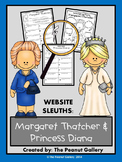 Website Sleuths: Margaret Thatcher and Princess Diana