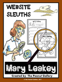 Website Sleuths: Mary Leakey