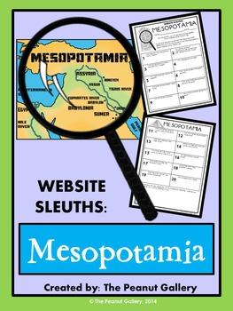 Website Sleuths- Mesopotamia (Fertile Crescent)
