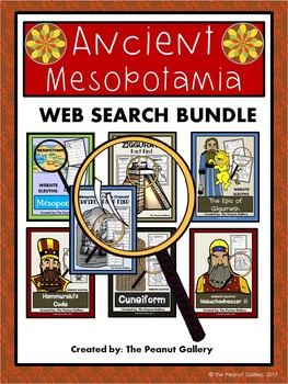 Website Sleuths: Mesopotamia Web Search Bundle