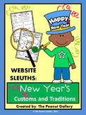 Website Sleuths: New Year's Customs and Traditions