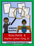 Website Sleuths: Rosa Parks and Martin Luther King, Jr.