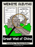 Website Sleuths: The Great Wall of China