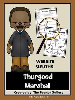 Website Sleuths: Thurgood Marshall