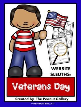 Website Sleuths: Veterans Day