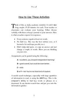 FREE - Webquests for Grades 4-7