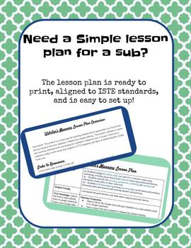 Webster's Manners Google Forms Quiz and Lesson Plan