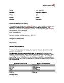 Wechsler Individual Achievement Test III WIAT Template *IE