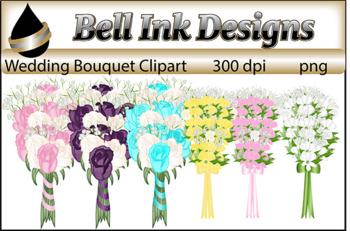 Wedding Bouquets Clipart