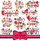 Wedding Clip Art Romantic Love Font Text Titles