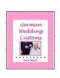 Wedding * Customs In Germany