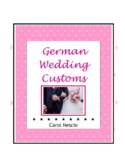 Wedding * Customs In Germany