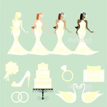 Wedding Day 02 Clipart by Poppydreamz