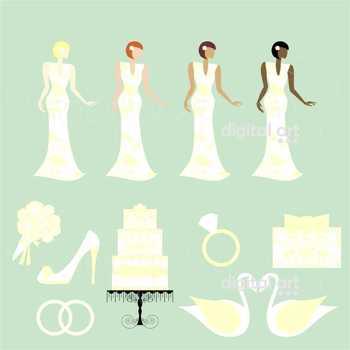 Wedding Day 03 Clipart by Poppydreamz