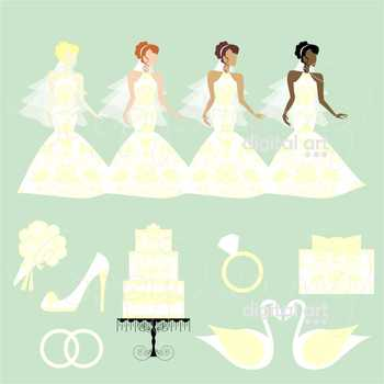 Wedding Day 04 Clipart by Poppydreamz