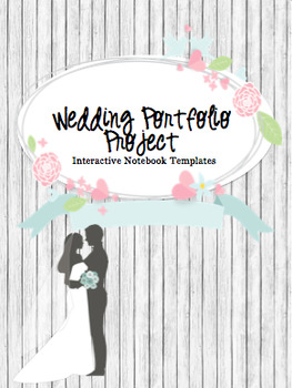 Wedding Portfolio Interactive Notebook
