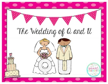 Wedding of Q and U ~ Freebies!