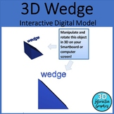 Wedge - 3D Shape for Whiteboards and Smartboards