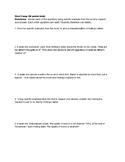 Wednesday Wars Comprehension Test Sept-Nov
